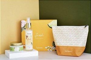 Kit  de presente - Fresh Desodorante (Apple & Peony)