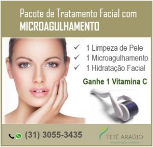 Tratamento Facial com Microagulhamento