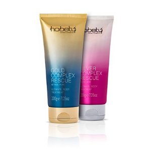 KIT BODY LOTION HOBETY GOLD E SILVER 200G CADA