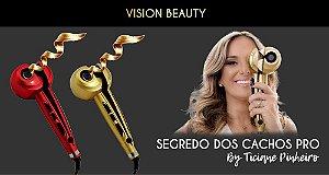 VISION BEAUTY SEGREDO DOS CACHOS BY TICIANE PINHEIRO (COR DOURADA)