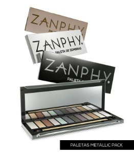 ZANPHY PALETA LUXO METALLIC PACK (NUDE)