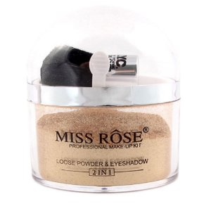 MISS RÔSE LOOSE POWDER & EYESHADOW DOURADO