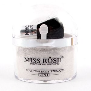 MISS RÔSE LOOSE POWDER & EYESHADOW PRATA