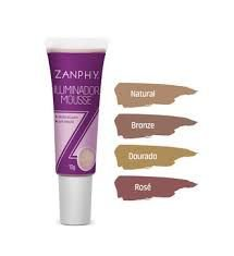 ILUMINADOR MOUSSE ZANPHY NATURAL 10G