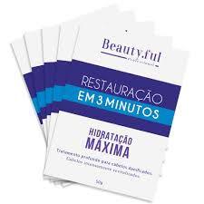 BEAUTY FUL SACHE RESTAURAÇÃO 3 MINUTOS 50G