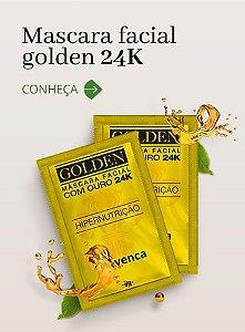 AVENCA GOLDEN MÁSCARA FACIAL COM OURO 24K SACHÊS