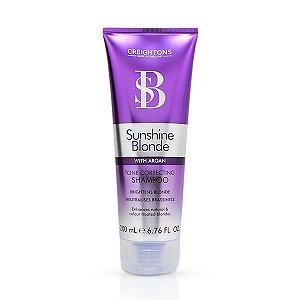 Creightons Sunshine Blonde Tone Correcting - Shampoo 200ml