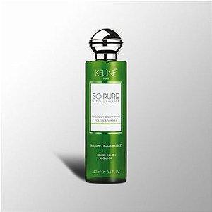 Keune So Pure Exfoliating - Shampoo sem Sulfato 250ml