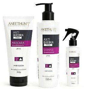 Kit Anti Quebra Aneethun - 3 produtos