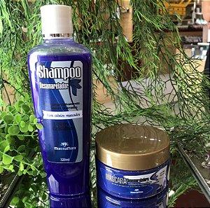 MORENA FLORA KIT DESAMARELADOR (shampoo e máscara)