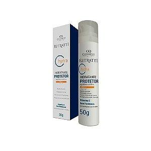 Cosmezi Ritratti Hydra Vitamina Creme Hidratante Facial Diurno com FPS 50 -  50g