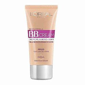 L'Oréal Paris Creme Milagroso 5 em 1 FPS 20 Médio - BB Cream 30ml