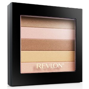 PALETA DE SOMBRA BLUSH REVLON HIGHLIGHTING COR 010 PEACH GLOW EÉCLAT PÊCHE