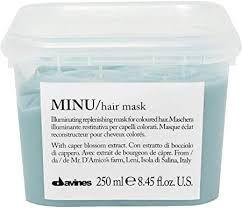 Davines Minu Hair Mask - Máscara Iluminadora e Reconstrutora 250ml