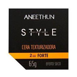 Aneethun Style Cera Modeladora E Cera Texturizadora 2 Forte 65G
