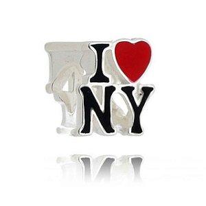 BERLOQUE DE PRATA EU AMO NEW YORK