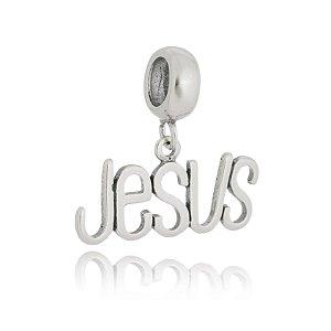 BERLOQUE DE PRATA JESUS