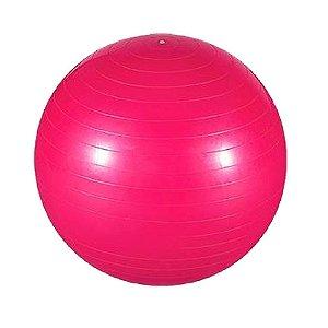 6ca22d300f Bola de Pilates Suíça Fitball 65cm Rosa com Bomba - Aikau - Aikau ...