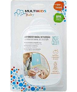 Aspirador Nasal de Sucção para Bebê 0+m - Multikids