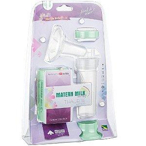 Bomba Elétrica Tira-Leite 110V, Verde - Matern Milk
