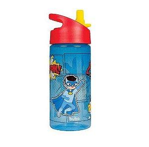 Garrafinha Super-Heróis Azul, 380 ml, +18m - Buba