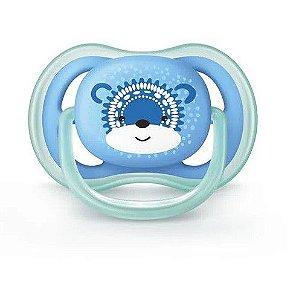 Chupeta Ultra Air Urso Azul 6 a 18m Philips Avent