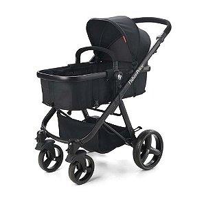 Carrinho de Bebê Hero 0 a 15Kg Preto Fisher-Price