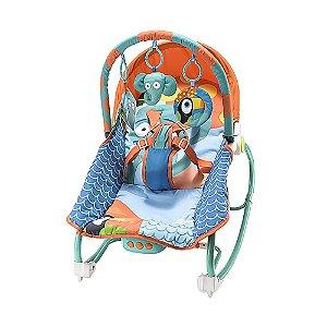 Cadeira de Balanço para Bebês Elefante +0m Multikids