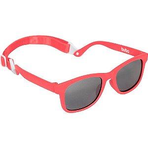 Óculos de Sol Infantil com Alça +3m Vermelho Buba