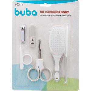 Kit Higiene e Cuidados +0m Cinza Buba