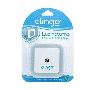 Luminária Luz Noturna com Sensor Clingo