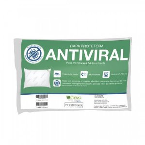 Capa Antiviral para Travesseiro Infantil 30x40cm Theva