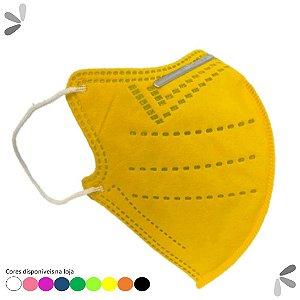 Máscara PFF2 Adulto Amarela 1 un. EFB 99% Medi Company