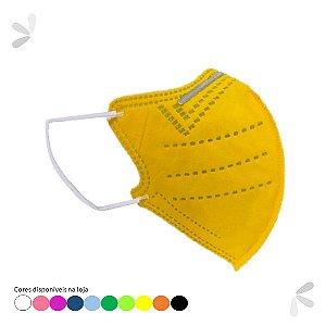 Máscara PFF2 INFANTIL Amarela 1 un. EFB 99% Medi Company