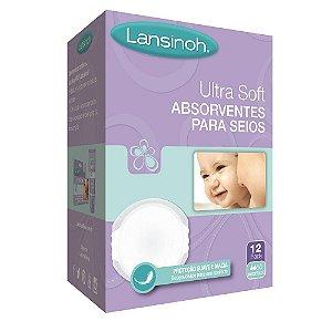 Absorvente para Seios Ultrasoft C/ 12 unidades - Lansinoh