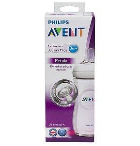 Mamadeira Philips Avent 330Ml Pétala - Transparente