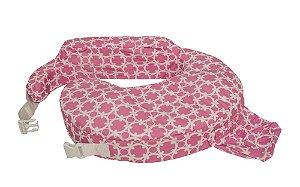 Almofada de Amamentação Original - My Brest Friend - Pink & White