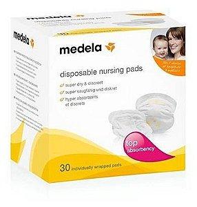Absorvente para seios descartável c/ 30 unidades - Medela