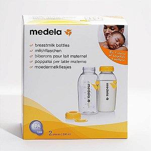 Potes Armazenar Leite Materno 250 Ml C/ 2 Unidades - Medela
