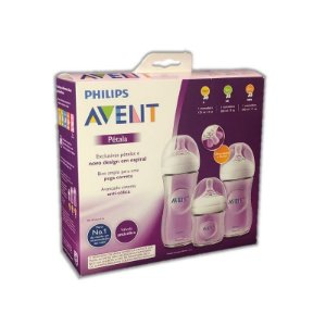 Kit Mamadeiras Pétala 125Ml 260Ml E 330Ml - Philips Avent