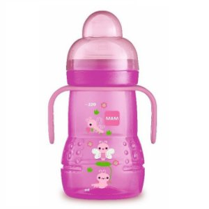 Copo MAM Trainer+ 220Ml (4+ Meses) - Rosa