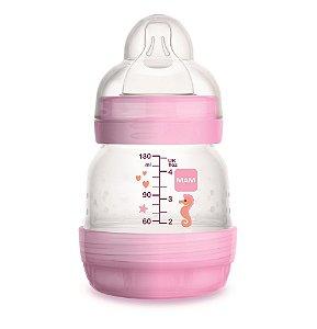 Mamadeira Easy Start 130Ml - Recém-nascido - Rosa