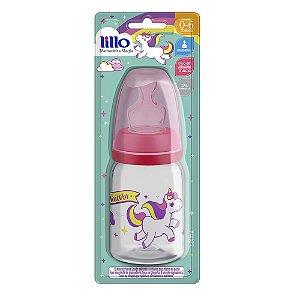 Mamadeira Magia Orto 120ML-  Rosa - Lillo