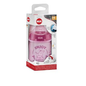 Mamadeira Nuk My First ENJOY - 150ml (0 - 6 meses) - Rosa
