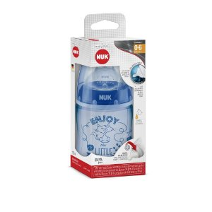 Mamadeira Nuk My First ENJOY - 150ml (0 - 6 meses) - Azul