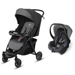 Carrinho e Bebê Conforto CBX Woya Travel System Comfy Cinza
