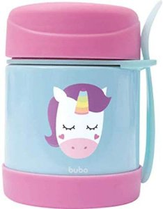 Pote Térmico Animal Fun - Unicórnio 320ml, 6m+, Buba