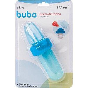 Colher Dosadora e Porta Frutinha Azul Buba
