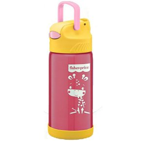 Copo Térmico Hot Cold Rosa 400ml, Fisher Price