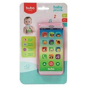 Telefone Infantil - Baby Phone - Rosa - 2 anos+, Buba
